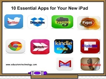 10 Fundamental Apps for Your New iPad ~ Educational Technology and Mobile Learning | Educational Technologies | Scoop.it