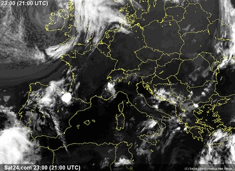 Satellite Weather France, Weather Forecast, Rainfall, Clouds and Sun - Source: SAT24.com | Astronomy | Scoop.it