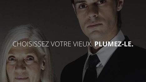 Personnes âgées: les étonnantes campagnes de com' d'une école parisienne   Citizen Com   Scoop.it