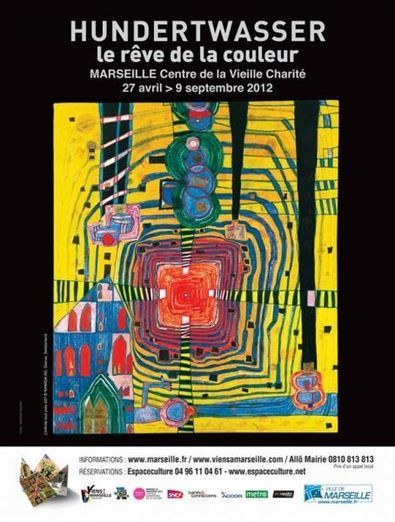 Hundertwasser veut changer le centre de Marseille - Culture - France 3 Régions - France 3 | Artistes de la Toile | Scoop.it