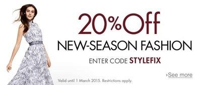 Amazon.co.uk: 20% off New-Season Clothing with Code 'STYLEFIX': Clothing   Heathrow Gatwick Cars   Scoop.it