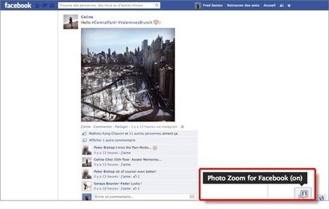 Comment zoomer sur une photo Facebook en passant au-dessus ? | Time to Learn | Scoop.it