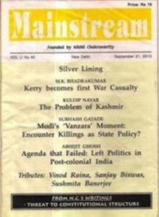 Agenda that Failed: Left Politics in Post-colonial India - Mainstream | real utopias | Scoop.it