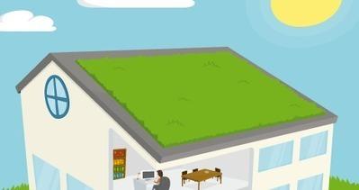 Produire de l'énergie avec sa toiture végétalisée | L'Agriculture Citadine | Scoop.it