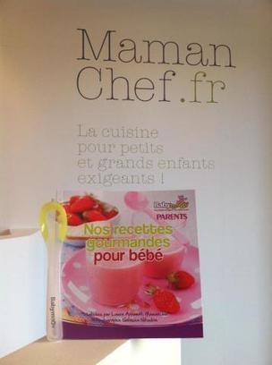 """Livret """"nos recettes gourmandes pour bébé"""" dans le magazine Parents de aout 2012   Je, tu, il... nous !   Scoop.it"""