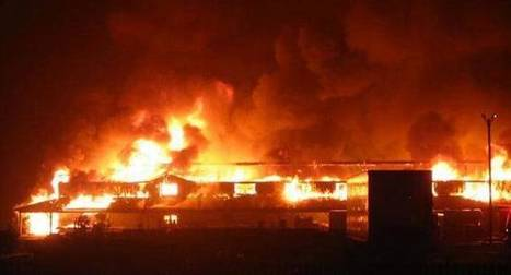 Fire guts over 60 shops in Mumbai's Crawford Market; none hurt | Entertainment News | Scoop.it