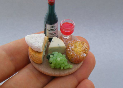 Food Sculptures That Fit on the Tip of Your Finger | @Ease Catering Limited | Scoop.it