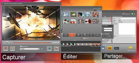 10 logiciels gratuits de capture d'écran vidéo | Solutions Bureautiques et Multimédia | Scoop.it