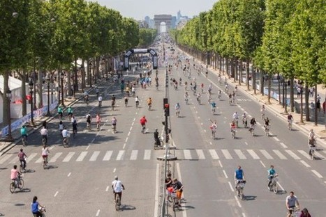 Pedestrians Will Take Over Paris For 'A Day Without Car' | Peer2Politics | Scoop.it