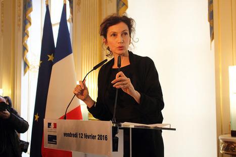 Frédéric Lenica, directeur, et Marie-Amélie Keller, cheffe du cabinet d'Audrey Azoulay | Culture(s) | Scoop.it