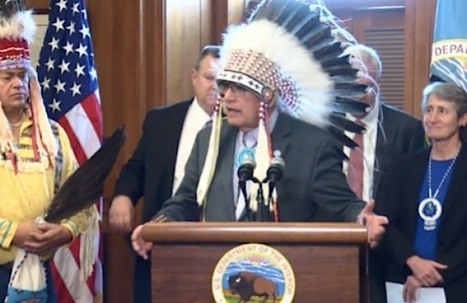 Oil Company Surrenders 15 Land Leases on Sacred Native American Land - Good News Network | This Gives Me Hope | Scoop.it