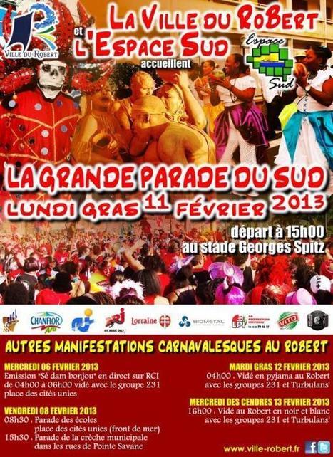 Dates du carnaval 2013 en Martinique | Martiniques news | Scoop.it