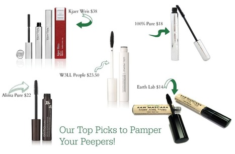 Our Top 5 Picks for Non-Toxic Mascara | Natural Beauty and Skincare | Scoop.it