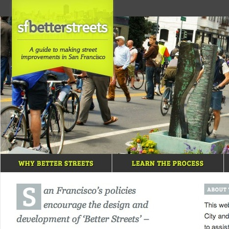 "San Francisco To Help Citizens Create ""Better Streets"" 
