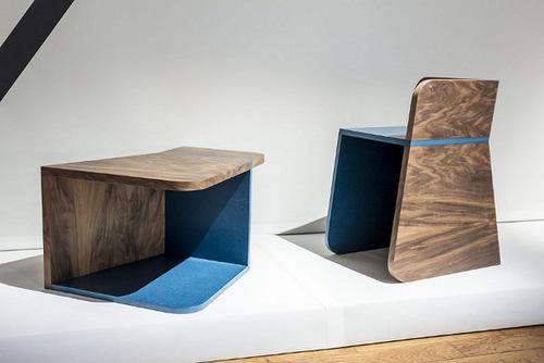 Blog Esprit Design ninety° chaise ou table par gwénaëlle follézou - blog esprit design