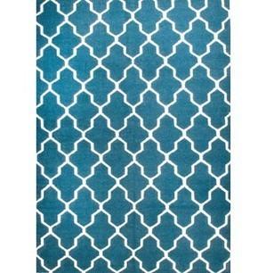 Rugsville Moroccan Trellis Teal Blue Wool 13651 Rug | Discount Area Rugs | Scoop.it