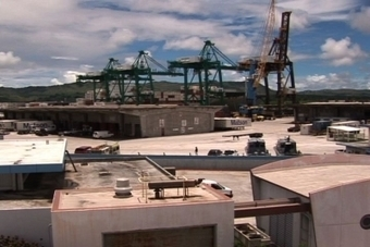 Only Two Cranes Working at The Port   Marine & Vessels   Scoop.it