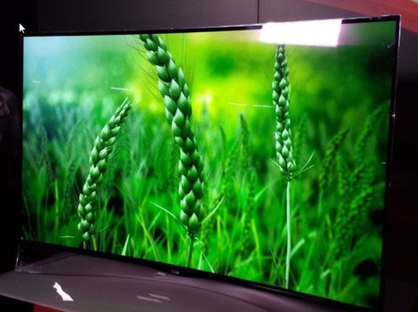 LG: curved OLED and smaller Ultra HD TV coming to Australia | Advanced Korean Technology | Scoop.it