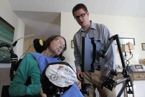 SpeakYourMind pioneers communication tool for those with degenerative neurological diseases & Brain Injuries | #ALS AWARENESS #LouGehrigsDisease #PARKINSONS | Scoop.it
