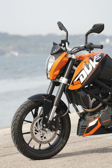 MOTOBLOGGER: KTM DUKE 125 | Rogermotard | Scoop.it