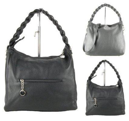 ^_^   MARC Damen Handtasche, Echtleder, made in italy, 2 Farben: schwarz oder grau, Farbe:schwarz | Clutch Bags Online | Scoop.it