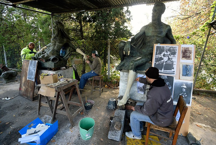 Vandalized statues from parks, gardens and public spaces restored at Argentine 'hospital' | Art Daily | Amériques | Scoop.it