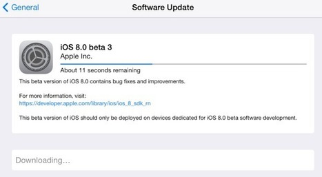 Apple's iOS 8 Beta 3 Is Now Running Out To Developers – Go And Grab It! - Aegisisc iPhone Blog | For iPhone Application Developers | Scoop.it