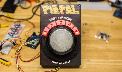 PiePal: order a pizza at the push of a button | Raspberry Pi | Scoop.it