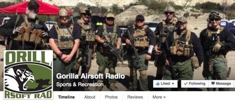 Gorilla Airsoft Radio #113 is ONLINE and FREE FOR ALL! - Via Facebook | Thumpy's 3D House of Airsoft™ @ Scoop.it | Scoop.it