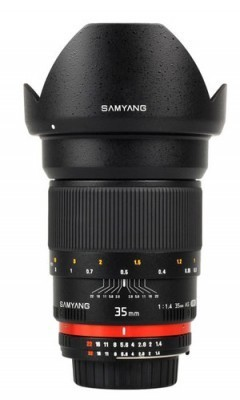 "Samyang 35mm f/1.4 AS UMC | ""Cameras, Camcorders, Pictures, HDR, Gadgets, Films, Movies, Landscapes"" 