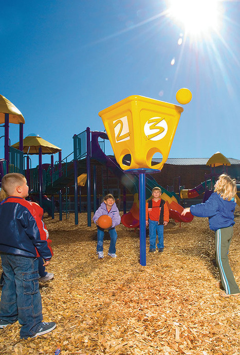 Ball Toss w/ Numbers- Buy Commercial Playground Equipment - American Parks Company | Commercial Playground Equipment | Scoop.it