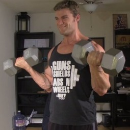 Arm Workout Routine At Home Using Dumbbells – Home Fitness Workouts   Anything Fitness   Scoop.it