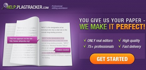 Help.Plagtracker.com - professional editing assistance | Different methods for Plagiarism prevention | Scoop.it