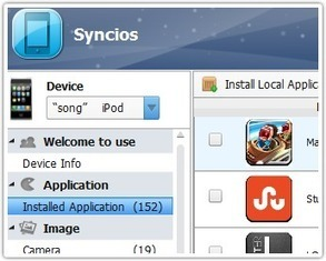 Syncios: Transfer Apps Music Video Photo Ebook from iPod/iPhone/iPad to PC for free | pdxtech-info | Scoop.it