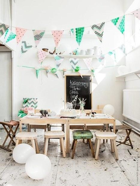 Goûter d'anniversaire | PLANETE DECO a homes world | décoration interieure | Scoop.it