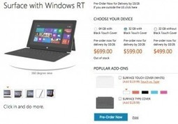 Microsoft Surface RT prices officially revealed | Tablet PCs | Scoop.it