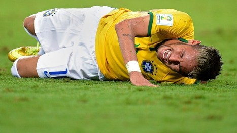 Neymar ruled out of World Cup | FIFA World Cup Brazil 2014 | Scoop.it