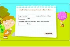 Tiempos verbales: recursos para Primaria - Educación 3.0 | Technology and language learning | Scoop.it