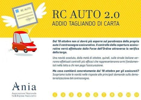 Assicurazioni auto, dal 18 ottobre basta esporre il tagliando | Risk Management | Scoop.it