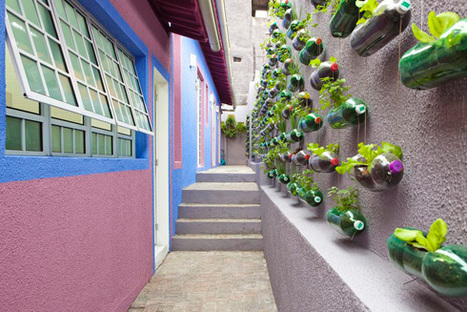 DIY - tu jardín vertical con botellas PET(!) | Craft and other ideas | Scoop.it