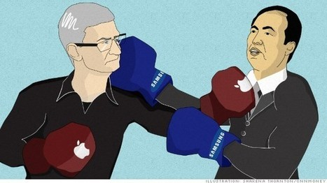 Lawyers Caught in Samsung v Apple Fight | Law News and Law Firm Marketing | Scoop.it
