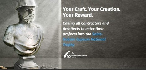 Saint-Gobain Gypsum National Trophy awards are open for entries! | Saint-Gobain Brands life | Scoop.it