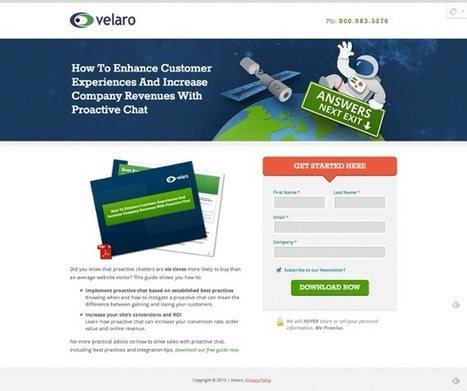 HOW TO CREATE AN EFFECTIVE LANDING PAGE   Digital Marketing Services   Scoop.it