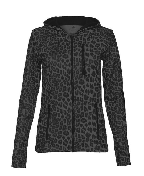 Libby - Black Leopard - Hoodie | Workout Clothes for Women | Scoop.it