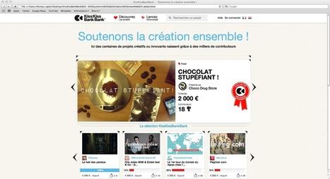 Crowdfounding : financer ses projets grâce aux réseaux sociaux | Webdoc - Outils & création | Scoop.it