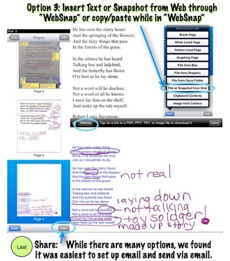 wwwatanabe: Close Read Complex Text, and Annotate with iPads--Part 2 | Appy Hour with Apps to Rock Your EdTech World | Scoop.it