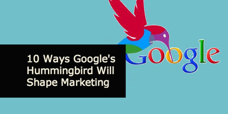 10 Ways Google's Hummingbird Will Shape Future SEO and Content Marketing - Anders Pink | Content Curation and SEO | Scoop.it