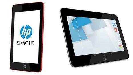 Состоялся анонс четырёх Android-планшетов от HP - THG   Современные гаджеты   Scoop.it