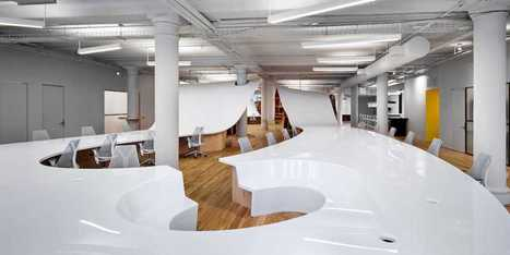 A Los Angeles Architect Has Completely Reinvented The Office Desk   Real Estate   Scoop.it