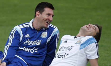 Lionel Messi looks relaxed as Argentina prepare for Belgium clash | fifa world cup brazil 2014 | Scoop.it